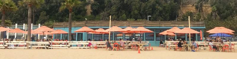 Back on the Beach Café
