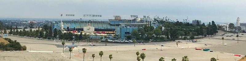 Dodger Stadium Lookout Point