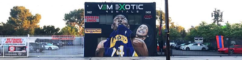Kobe & Gigi Wall Mural